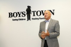 Board Chair for Boys Town South Florida, Dan's opening remarks at new headquarters.