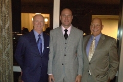 Jim McNeil, former BISA Executive Director; Joe Marasciullo, United National Federal Credit Union at Boys Town celebration, Mandarin Oriental, New York City.