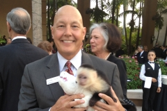 Dan at Miami Chamber of Commerce meeting at Parrot Jungle, Miami.