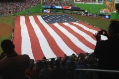 Opening Night, Miami Marlins Stadium with Atlantic Capital team members.