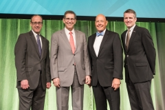 From (L) Jeff Hartney, BISA Exec Director;  Alan Blank; Dan Overbey; and Dan McCormack, 2017 Annual Conference.
