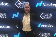 Privileged to join LPL's Private Advisor Group at the NASDAQ Closing Bell. Times Square, New York City.